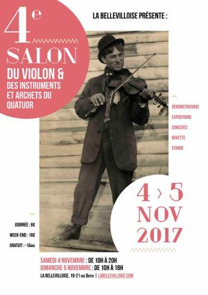 4ème Salon du Violon à Paris