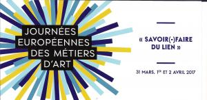 JOURNEES EUROPEENNES DES METIERS D ART